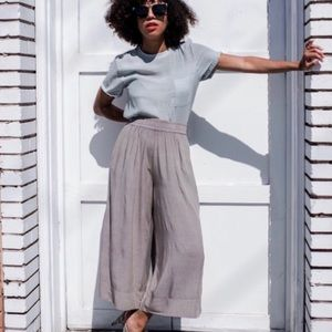The Odells Naica Cropped Culottes Pant